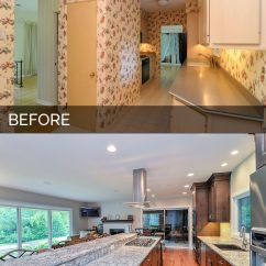Kitchen Facelift Before And After Space Saving Radiators Dan Ann 39s Pictures Remodeling