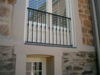 window railing - this simple design could work for ...