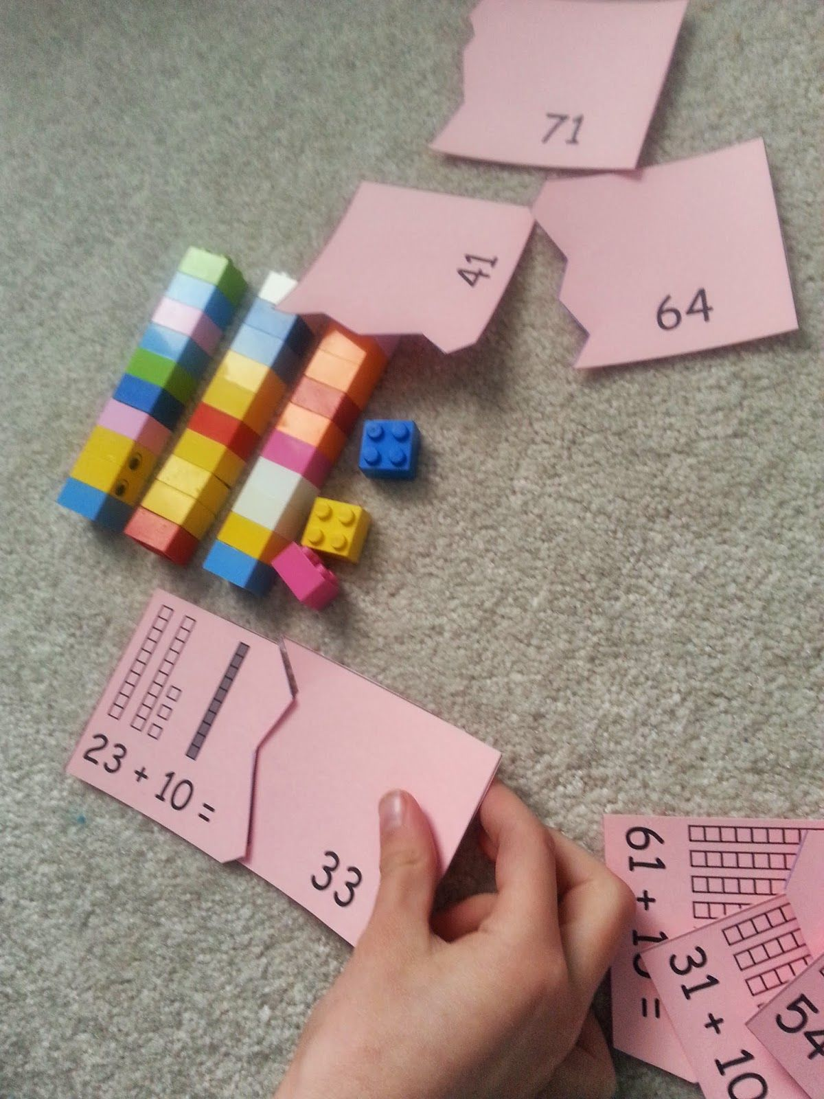 A Great Blog Post About Using Legos To Work On Place Value