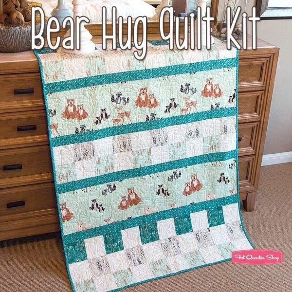 Bear Hug Quilt Kitfeaturing Bonnie