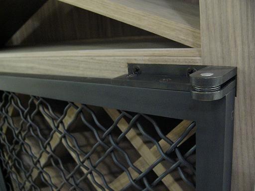 Swivel Pin Hinge Cabinet Door