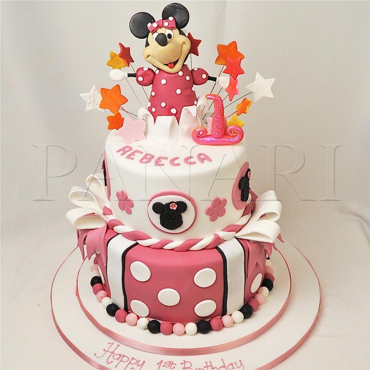Minnie Mouse Cake Mm Panari Cakes Cakepins