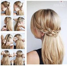 Hairstyles For School Step By Step Google Search Hairstyles