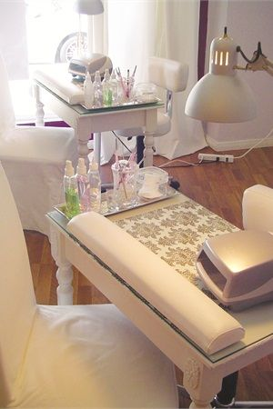 Manicure Station on Pinterest