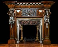 Antique Fireplace Mantels Ideas - http://junklog.com ...
