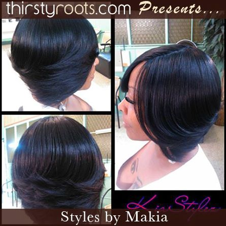 Feathered Layered Bob Hairstyle Hair Pinterest Feathered Bob