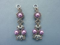 FREE beading pattern for Lotus Lace Earrings | Everything ...
