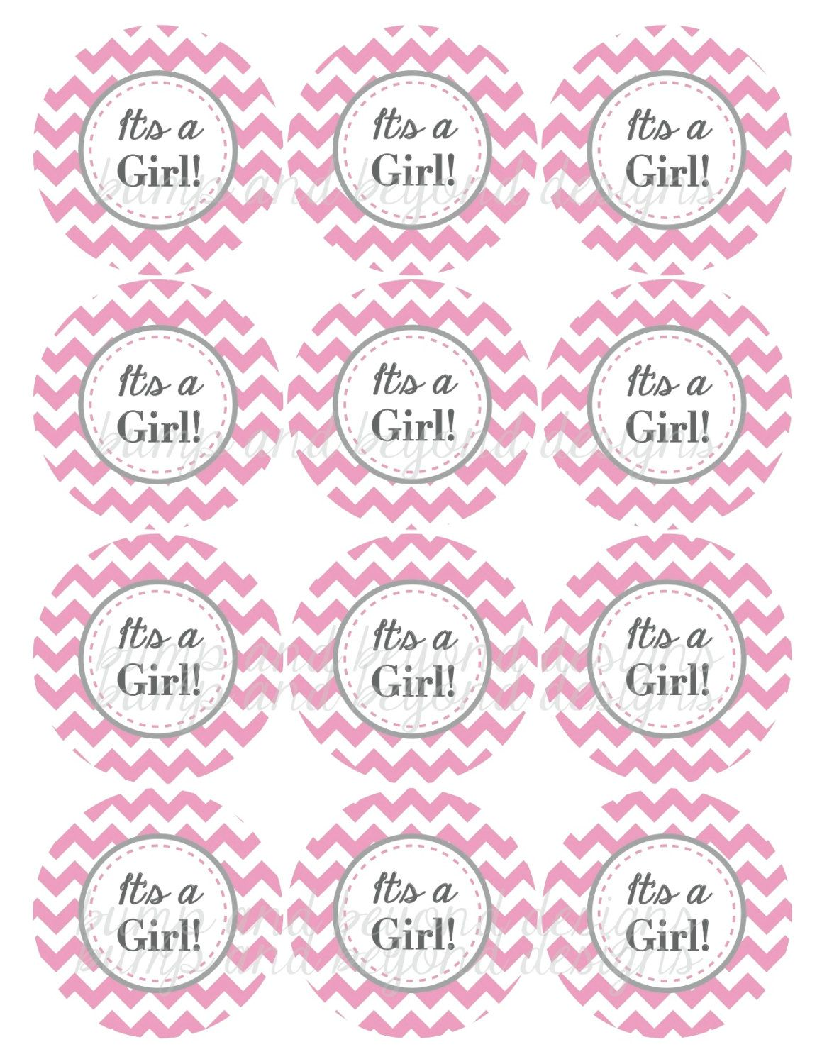 It S A Girl Tag