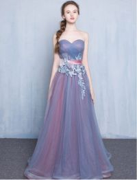 Vintage Inspired Strapless Sweetheart Lace Prom Dress ...