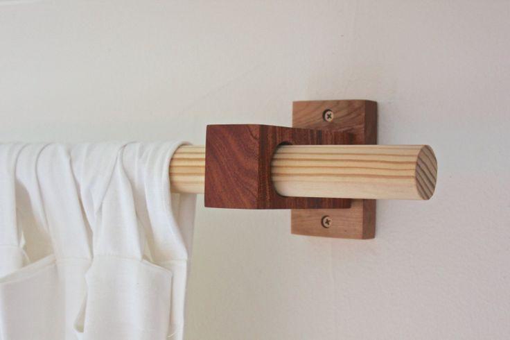 DIY Curtain Rod Idea Pinteres