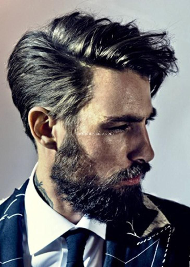 Medium Hairstyles For Men With Thick Hair Fashionable Men