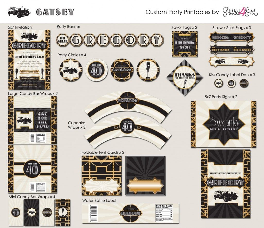 Gatsby Etsystore Layout Linl To Gatsby Printables