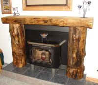 Rustic Fireplace Mantels and Surrounds Ideas ...