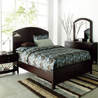 Hampton II Bedroom Set by Studio  jcpenney  Creating a