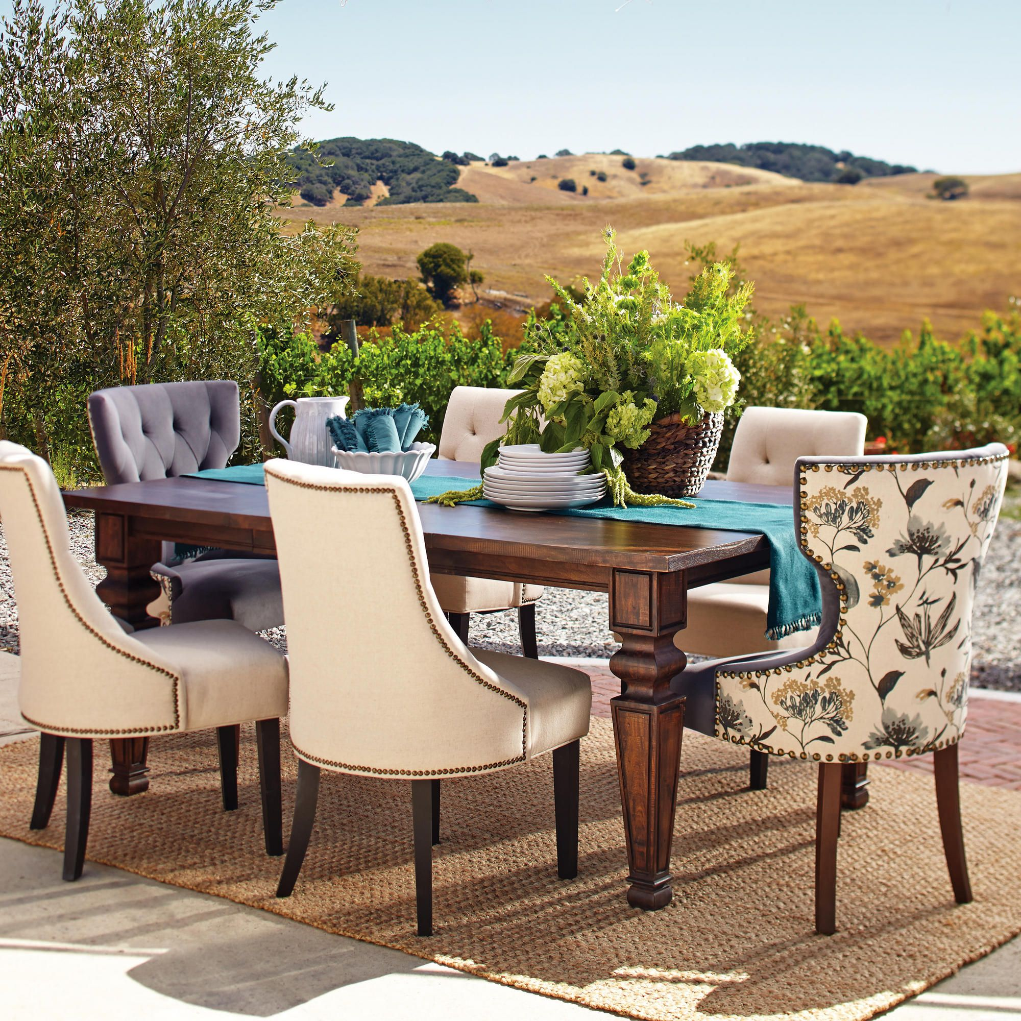 world market maxine chair adec dental chairs bishop double extension dining table for