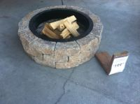 Lowe's fire pit kit $199 | Outdoors | Pinterest | Patios ...