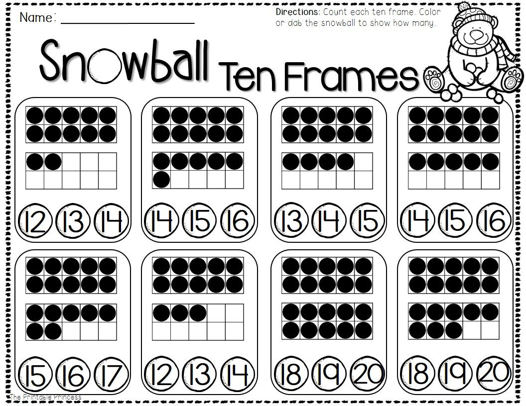 Freebie Reading Writing And Math Printable Pages