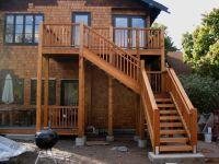 deck+stairs+ideas   Deck Stair Railing   Home   Pinterest ...