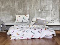 Colorful Watercolor Feather Pattern Bedding - Zimmer Rohde ...