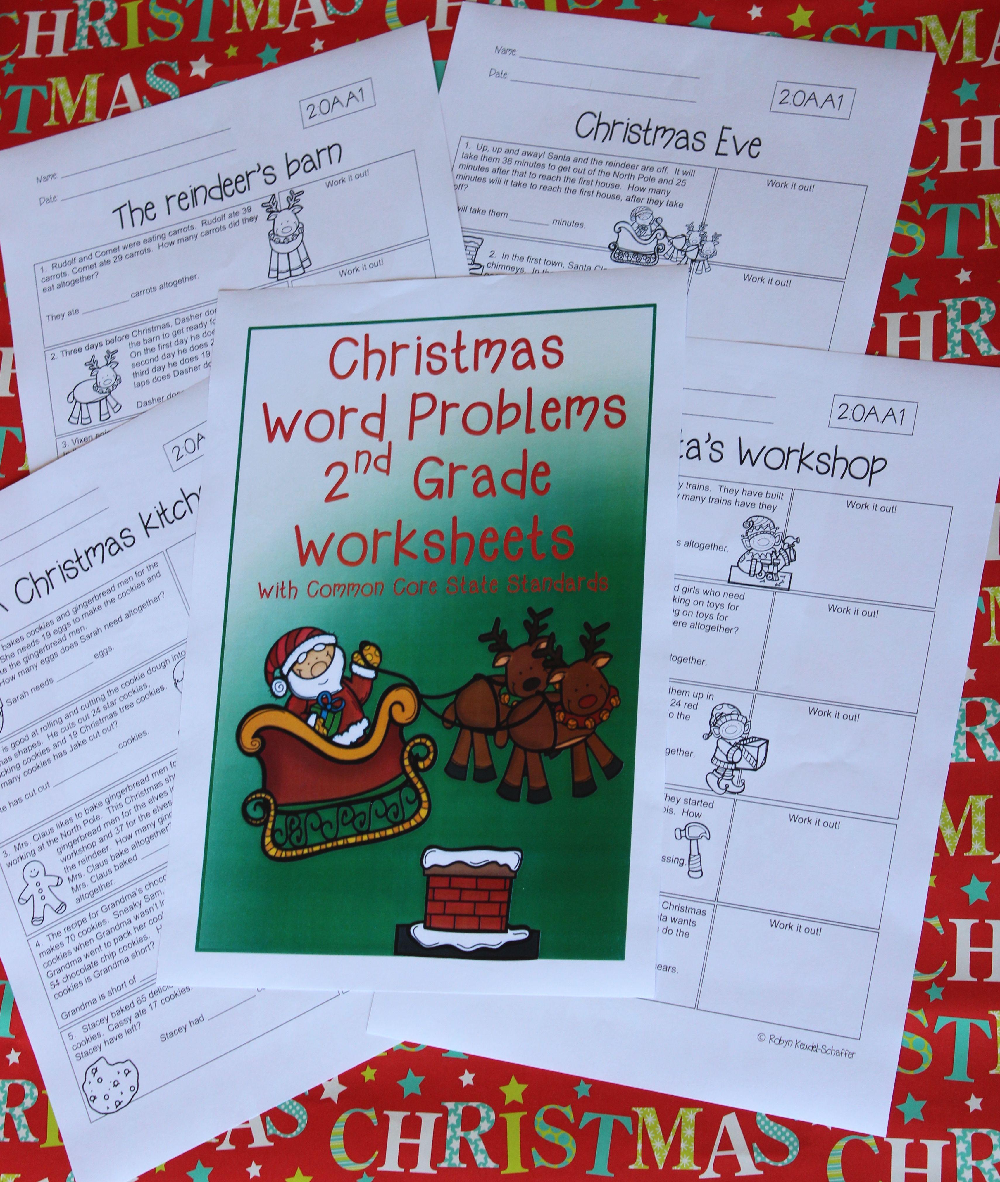 Christmas Themed Reading Worksheet