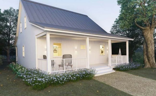 Metal Building Cottage House For Comfy Living Free