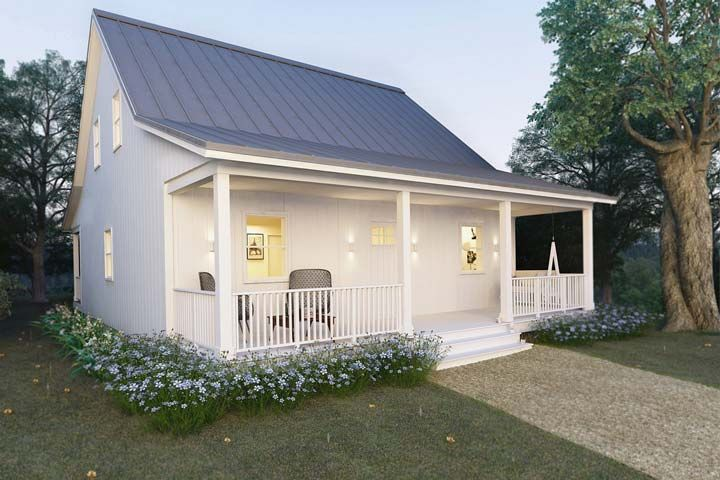 Metal Building Cottage House For Comfy Living (+FREE