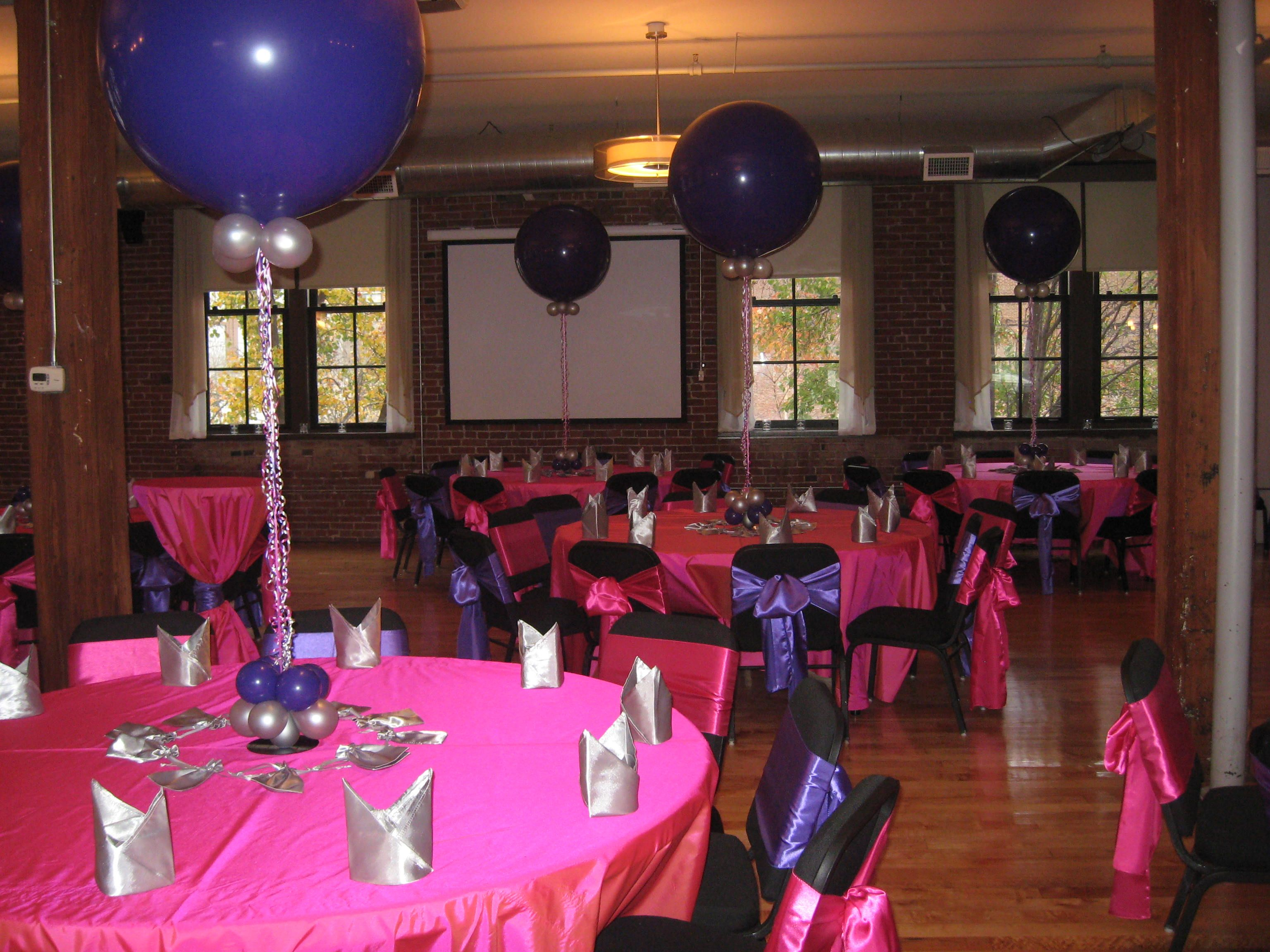 Sweet 16 Balloon Decorations Birthday Party