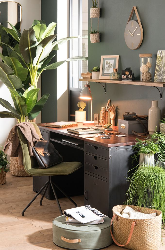Tendance dco Urban Garden  Bureau des plantes  Maisons du Monde  EARTHY HOME  Pinterest