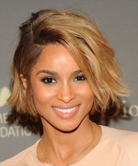 Ciara's New Blonde Bob Haircut Is Super Hot With The Ombre Effect