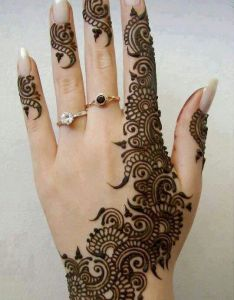 The arabic mehndi designs are usually visible on wedding day and  chenna nights   they also call henna night as  cthe before   mahendi mehendi pinterest hennas mahandi design rh