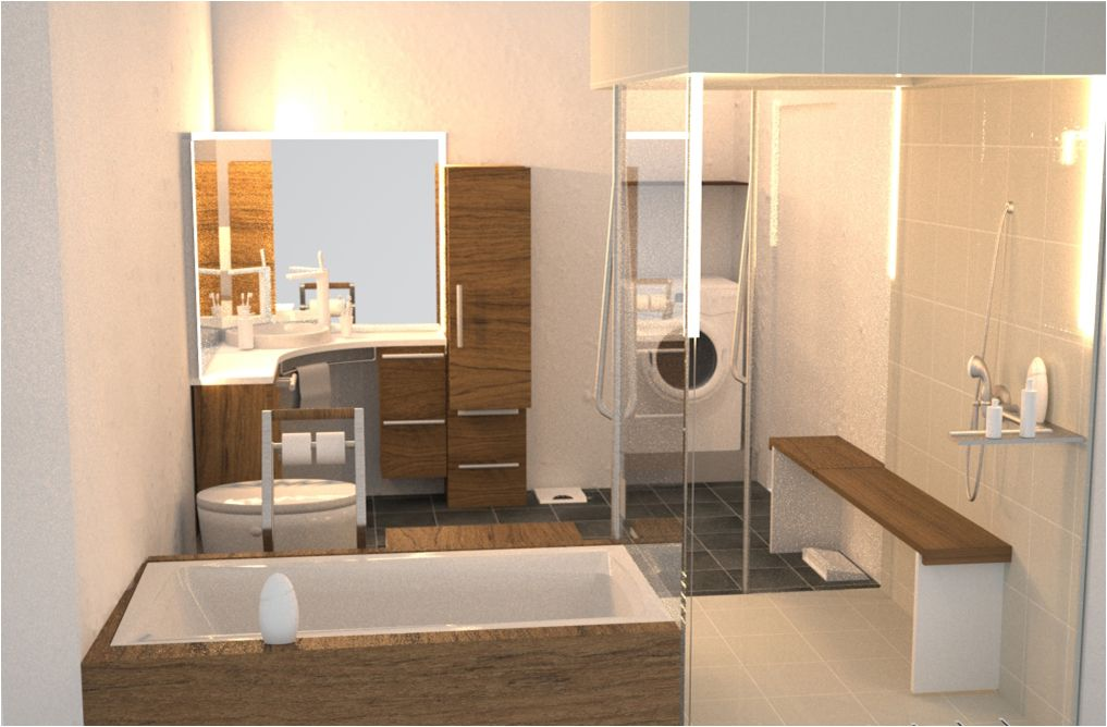 Natural Universal Bathroom Design Listed In Smart