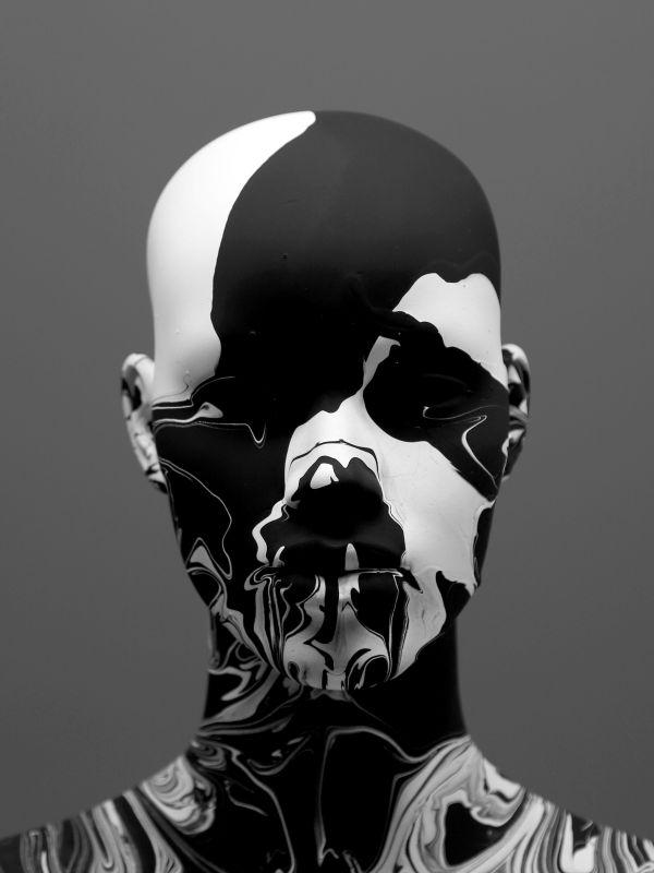 Black & White Monochrome Artwork And Portraits