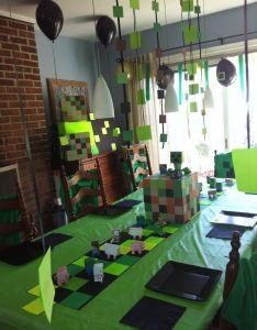 Minecraft birthday party ideas also birthdays and rh in pinterest