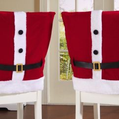Christmas Chair Covers Pinterest Glider Chairs For Nursery Red Santa Suit Holiday Dining Too Much Trouble Description From