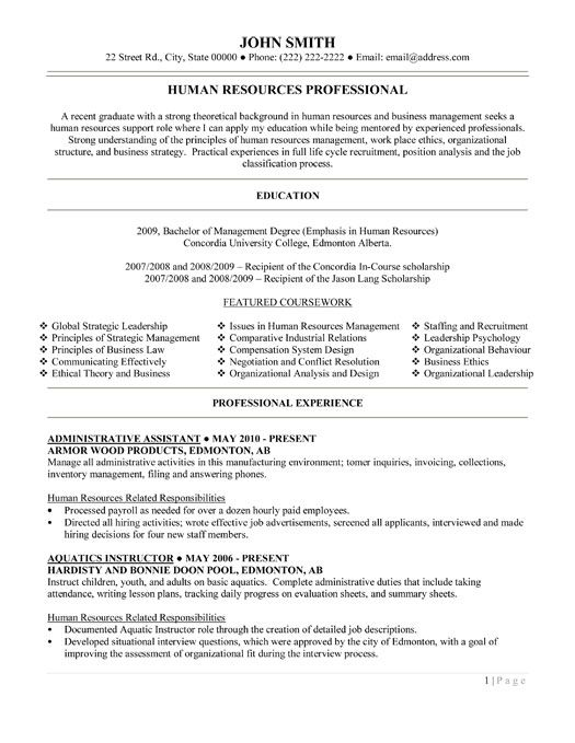 Professional Administrative Assistant Sample Resume