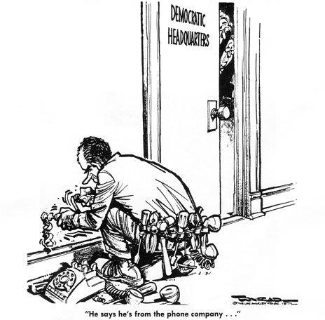 The Watergate Scandal: the cartoon tell that Richard Nixon