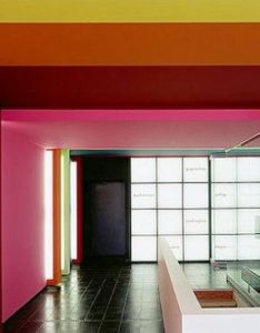 Modern colorful office by zipherspaceworks also colour full rh pinterest