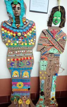 Recycled Egyptian Mummies - El Dorado Community School