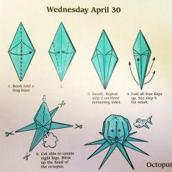 Diagram Origami Bracelet Leviton Timer Switch Wiring Octopus Crafts Pinterest