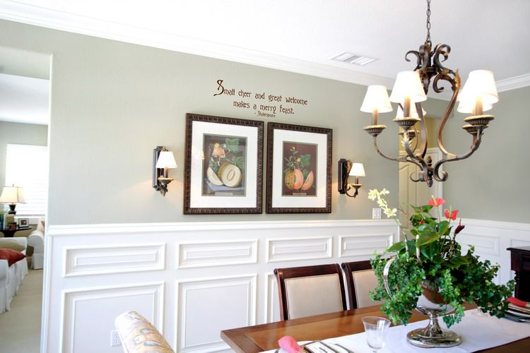 Dining Room Wall Decor Ideas 193 Country Dining Room