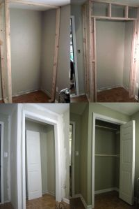 how to build a closet in an existing room | For the Home ...