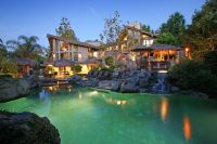 Luxury home in Anaheim Hills, California with a secluded ...