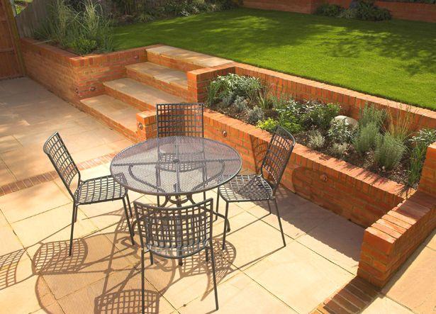 Small Sloping Garden Design Garden Ideas Pinterest Gardens