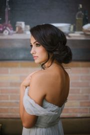 hair and make- steph bridal
