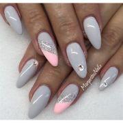 grey nails margaritasnailz