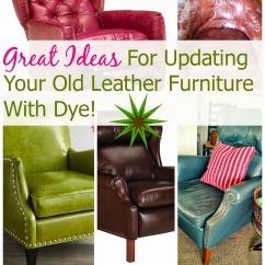 How To Fix Torn Faux Leather Sofa Black Sleeper Full House Revivals Dye A Or Chair Diy