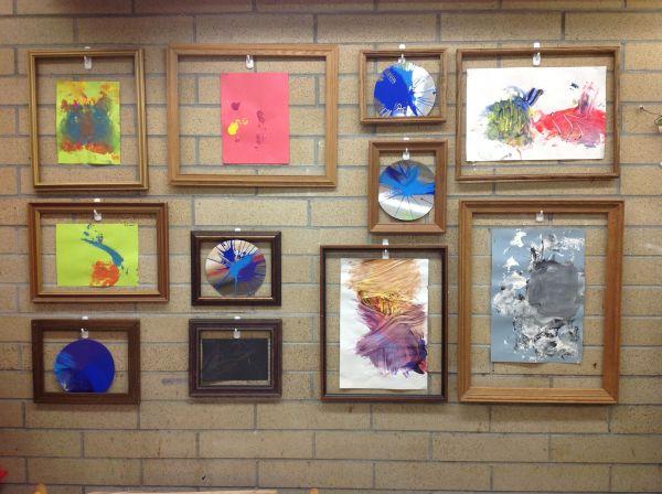 Preschool Classroom Art Displays