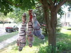 Creepy Halloween Decor Outdoor Ideas Scary And Decoration