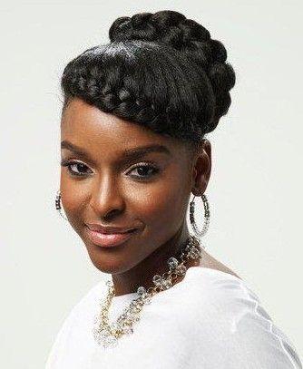 Little Black Girls Natural Hairstyles Occasion Formal Hairstyles