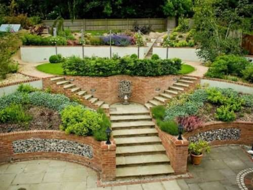 Sloped Landscape Design Ideas Net Wp Content Uploads 2013 07